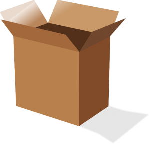 Moving box - in relation with packing assistance.