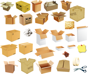 different kinds of boxes