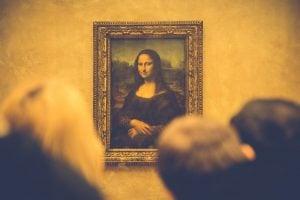 Mona Lisa for fine art movers