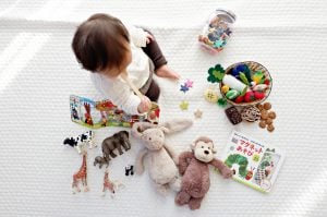 pack your child's room by making an essentials box