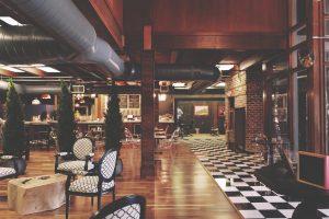 hotel movers Miami - a hotel lobby
