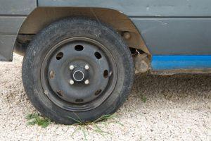 Wheel of a vehicle.