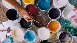 Paint job is a great low-budget home improvement idea