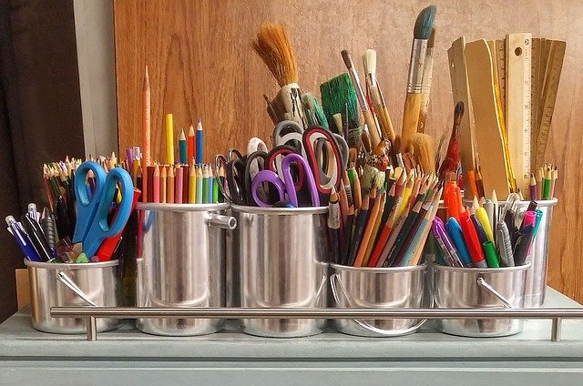 Art supplies that will help you reuse packing materials in a creative way