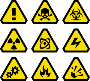 symbols for hazardous substances