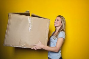 Simple cardboard boxes will not do the tricks every time. Get some better moving boxes!