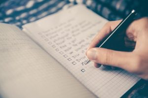 A checklsit, this will help you stay organized while moving your restaurant