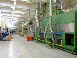 A factory machine