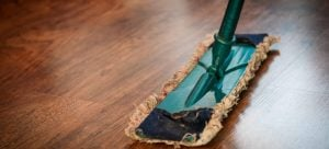 Clean your house in a day with a good floor mop.