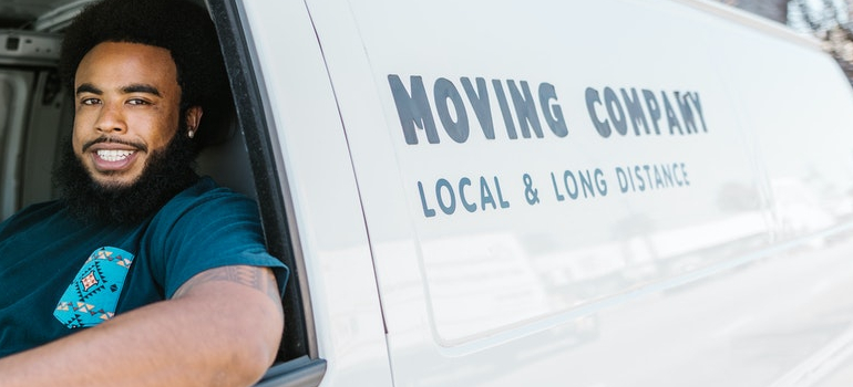 a professional moving crew