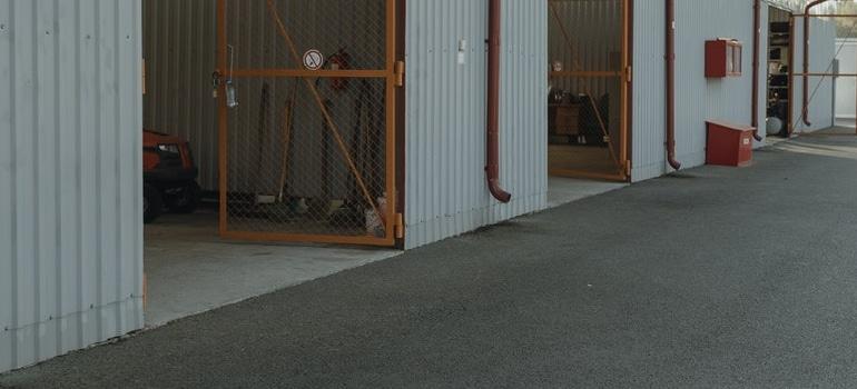 image of storage units