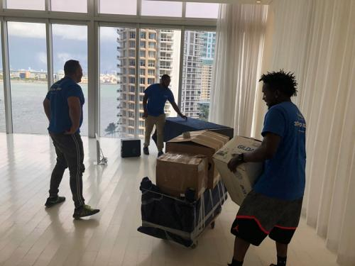 Years of training and experience make our apartment movers perfect for the job.