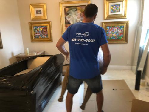 All our Miami movers are trained and physically strong professionals.