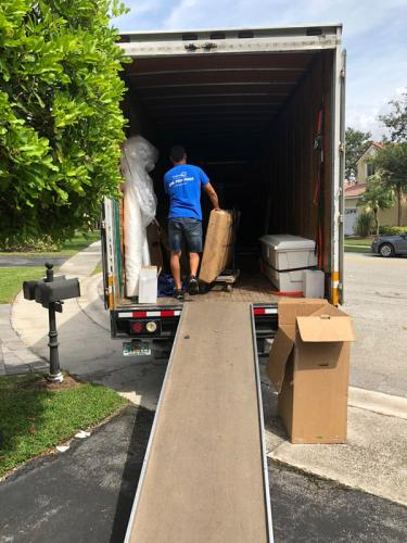 Loading a moving truck is second nature to us - we know it through and through.