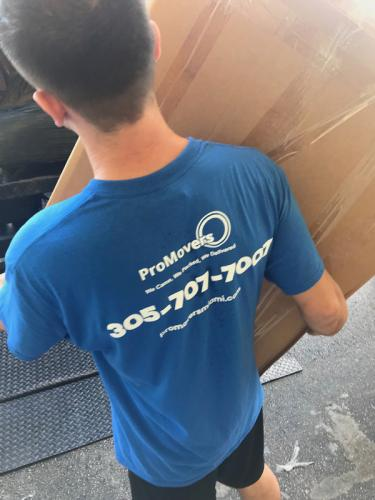 Efficient and always on time - Pro Movers Miami.